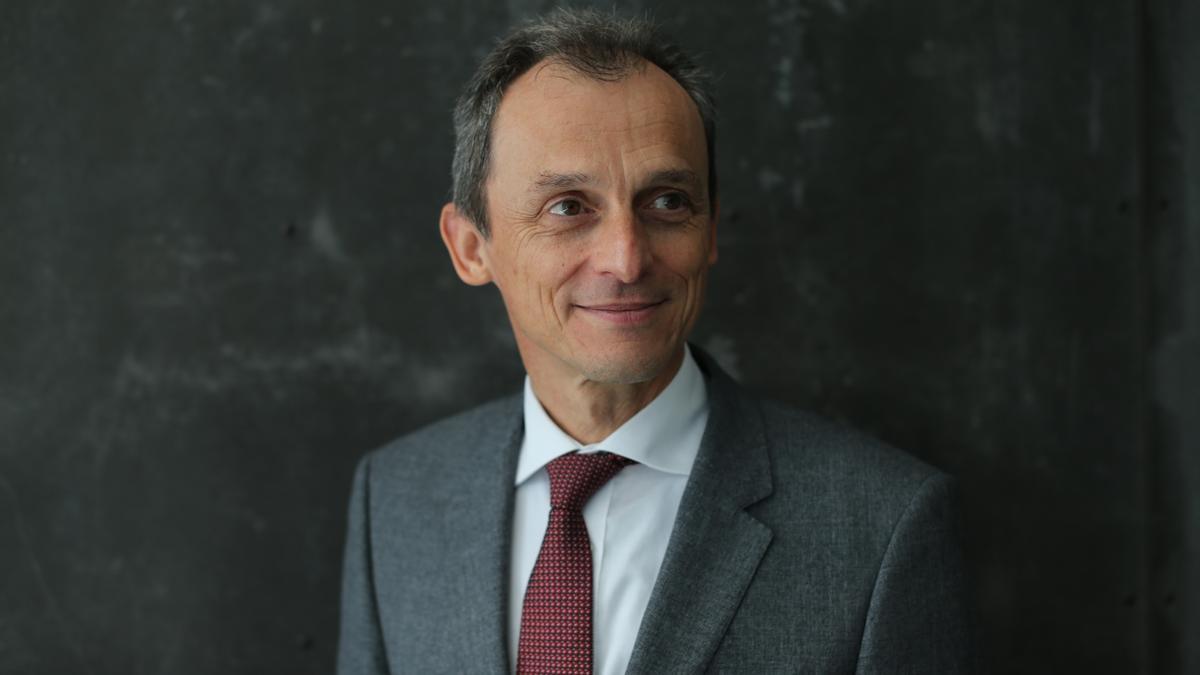 Una imagen de Pedro Duque.