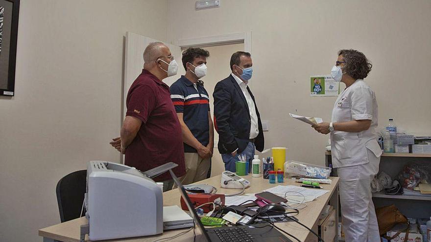 La Diputación cede a los Donantes de Sangre un local en el colegio del Tránsito