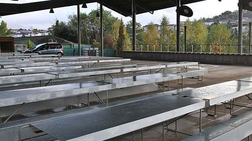 El pulpo regresa al campo de la feria de Ourense, cerrado desde marzo de 2020