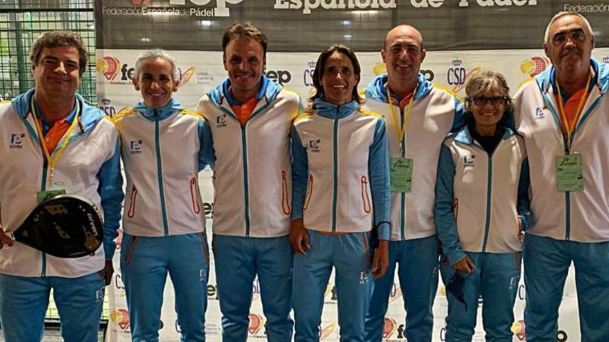 La C. Valenciana acaricia el podio nacional con 7 saforenses