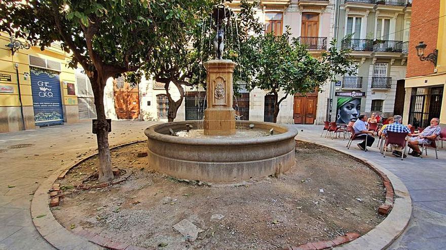 La Fuente del Negrito, ejemplo del deterioro del patrimonio