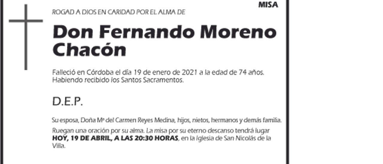 Fernando Moreno Chacón