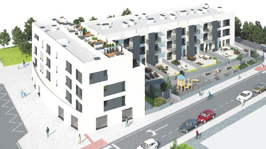 Oviedo contará con vivienda protegida muchos años después: 35 pisos en el Campón para rentas inferiores a 48.000 euros