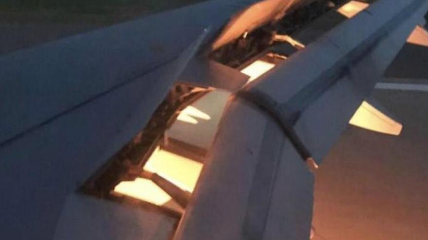 El avión que transportaba a Pizzise incendia en pleno vuelo