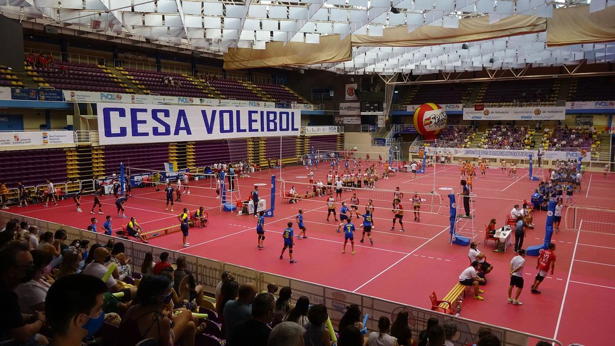 Imagen del Nacional disputado en Valladolid.