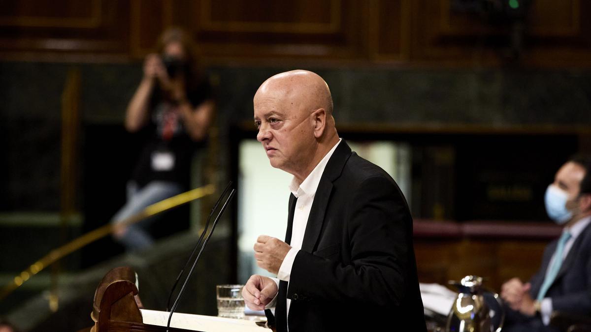 El diputado vasco del PSOE, Odón Elorza.