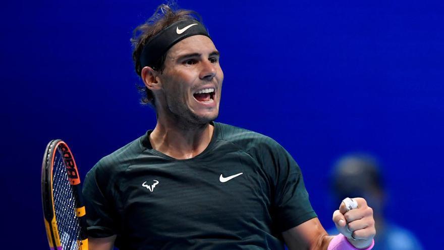 Nadal agota a Tsitsipas y jugará las semifinales de la Copa Masters