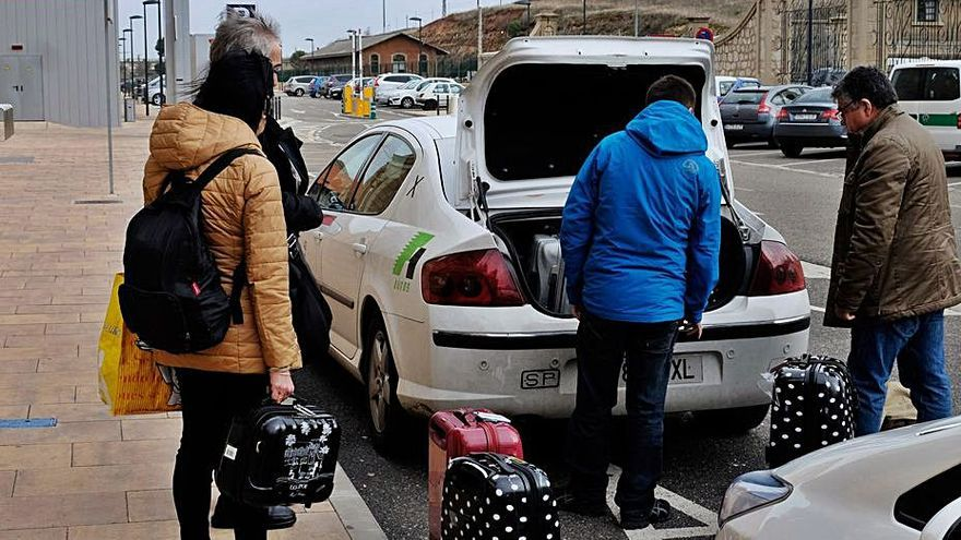 Los taxis suben tarifas en Zamora