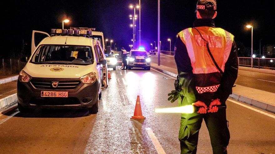 Más vigilancia  policial el fin de semana en la Comunitat Valenciana para controlar el toque de queda