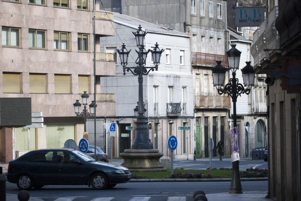 Las farolas de A Estrada que se han convertido en emblemas locales
