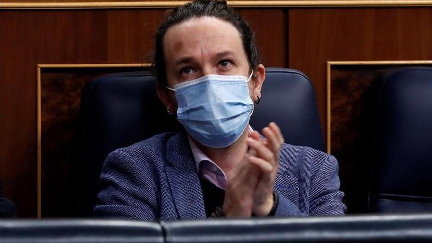 Iglesias subraya el escaso apoyo del suplicatorio a Puigdemont en la Eurocámara