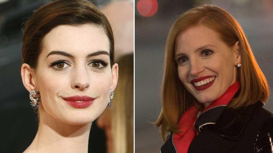 Jessica Chastain y Anne Hathaway protagonizarán el remake de 'Instinto maternal'