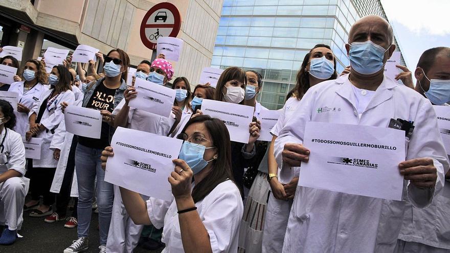 """Los urgenciólogos canarios denuncian la """"persecución personal"""" a Burillo"""