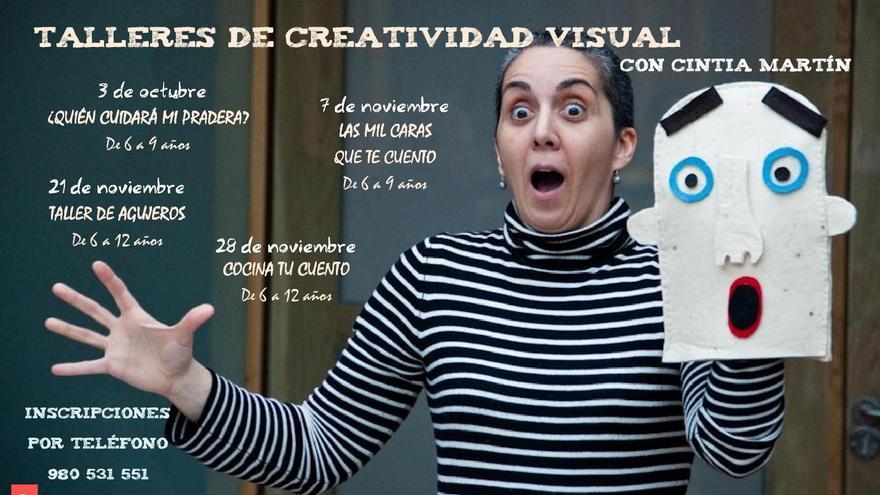 Talleres de creatividad visual, con Cintia Martín