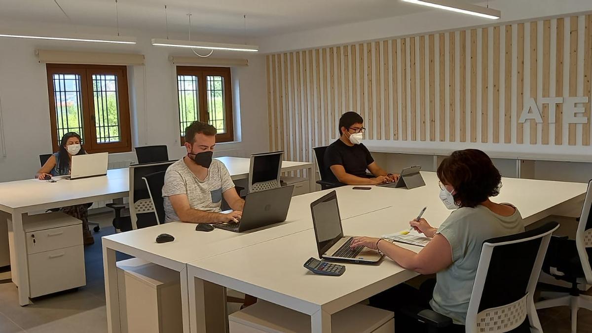El coworking inaugurado en Tuéjar