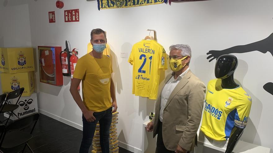 46 camisetas de la UD, 46 trozos de historia amarilla en el Museo Elder