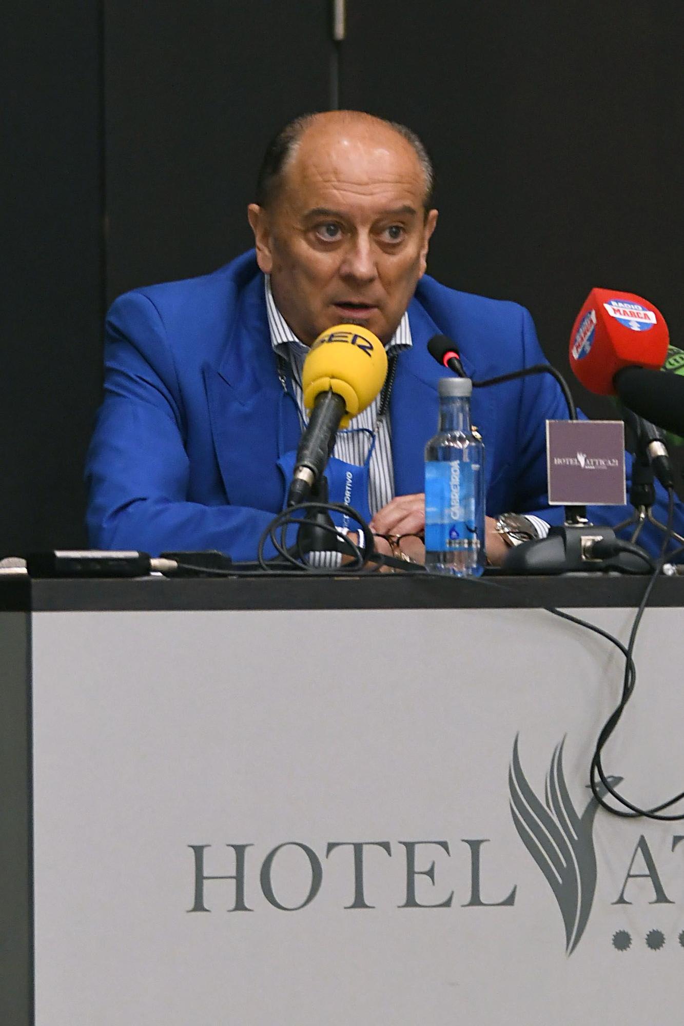 Despedida de Juan Ángel Barros, delegado del Dépor