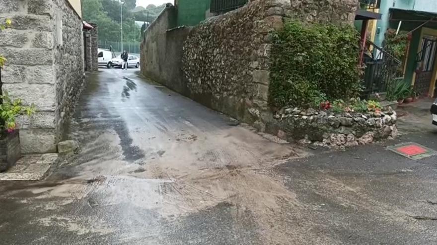 Así está Cué (Llanes) tras las intensas lluvias registradas ayer
