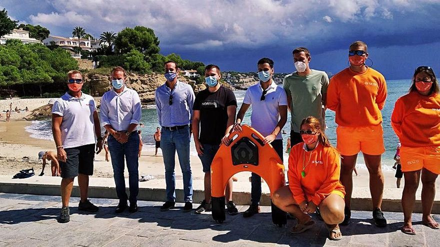"""""""Nos obsesiona buscar una solución tecnológica para salvar vidas en el mar"""""""