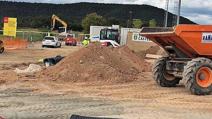 Castellnou dona forma a una gran àrea al Serrat per a equipaments