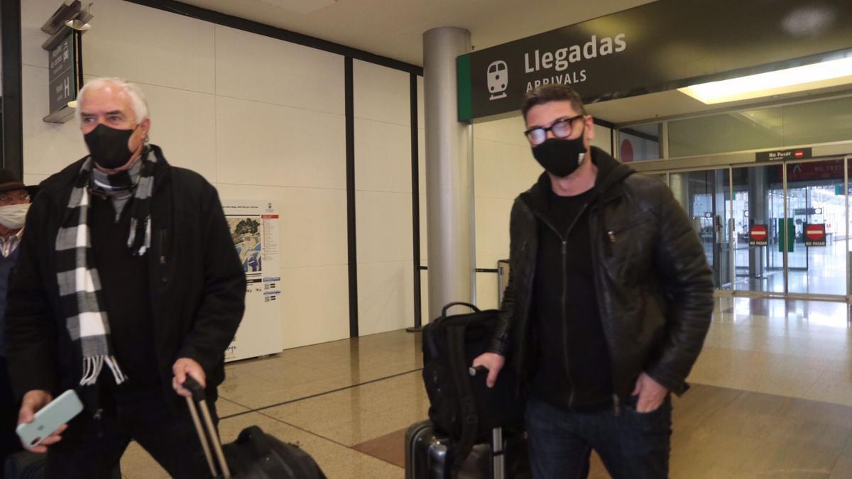 Fotis Katsikaris, a su llegada a Málaga