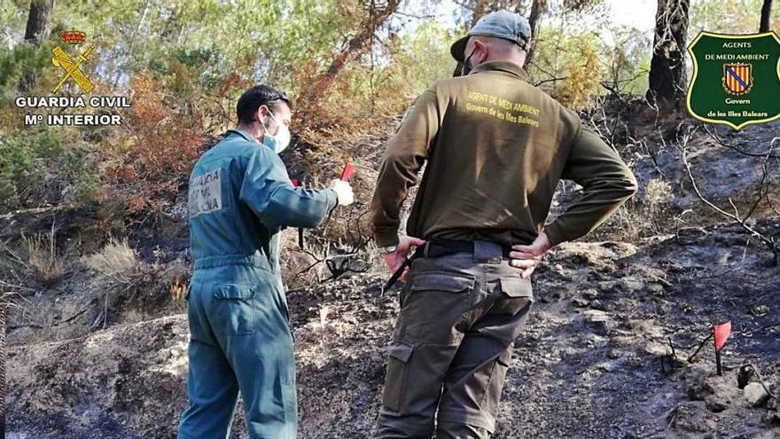 Un investigado por causar  el incendio de Benimussa por «una negligencia»
