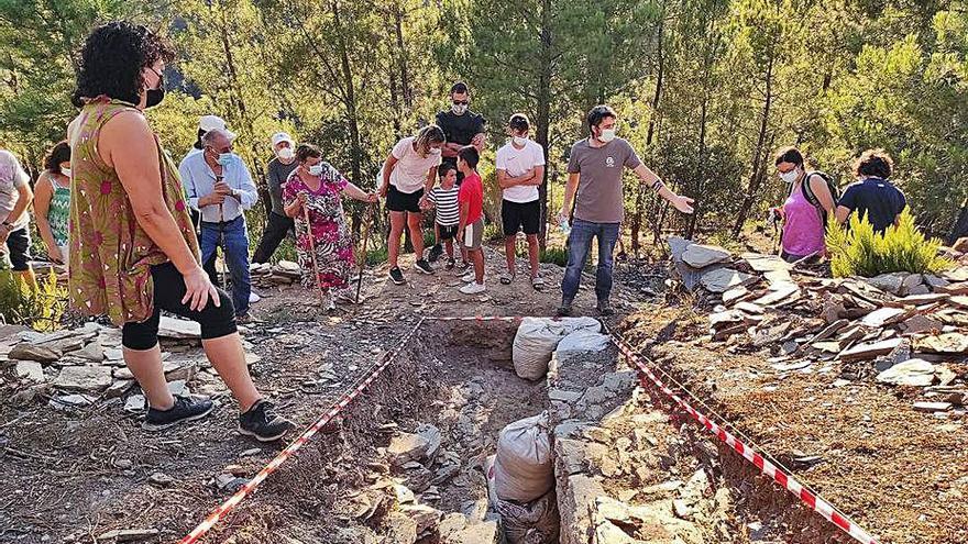 Larouco retomará las catas en las excavaciones de O Castrillón