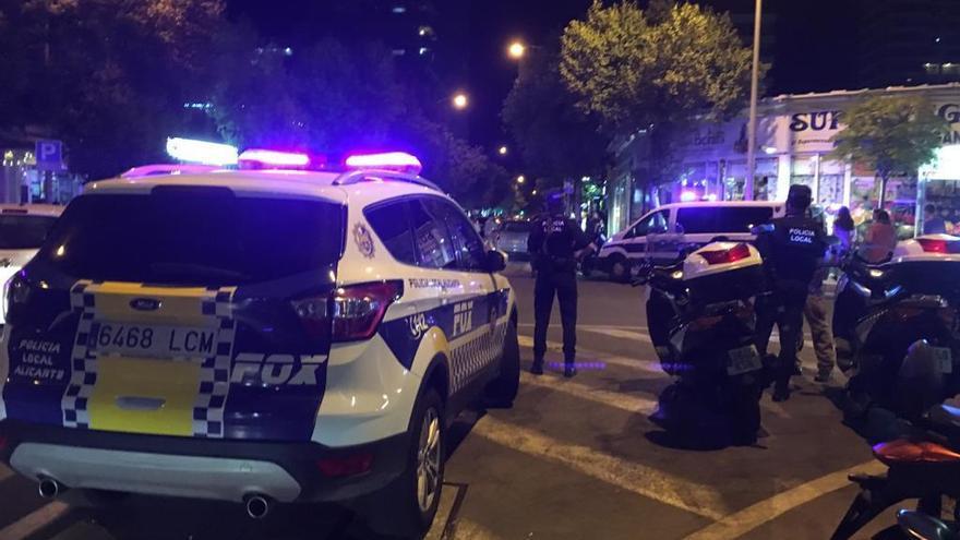 Alicante monta un dispositivo policial el fin de semana contra las fiestas de Halloween