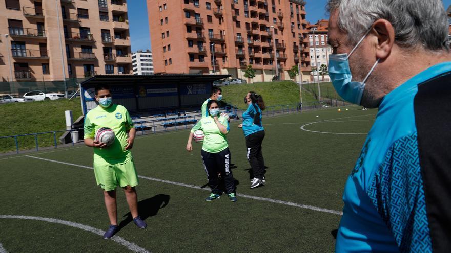 """El Avilés Stadium marca """"golazos"""" por la integración"""