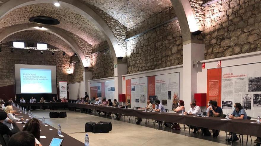 El pla social i econòmic anticovid de Manresa supera els 4,8 milions d'euros