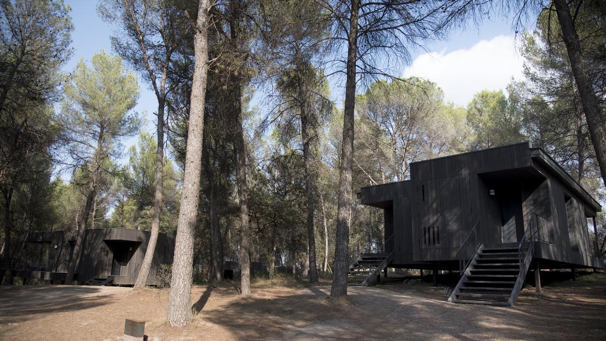 Les cabanes de luxe de l'Oller del Mas