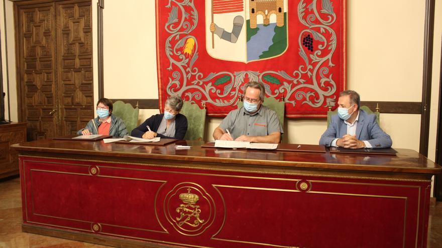 El Ayuntamiento de Zamora cede un solar en Balborraz para habilitar huertos urbanos