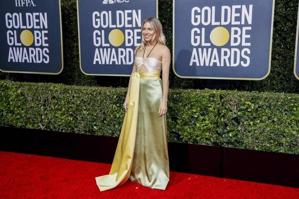 Stars arriving at the 2020 Golden Globe ceremony