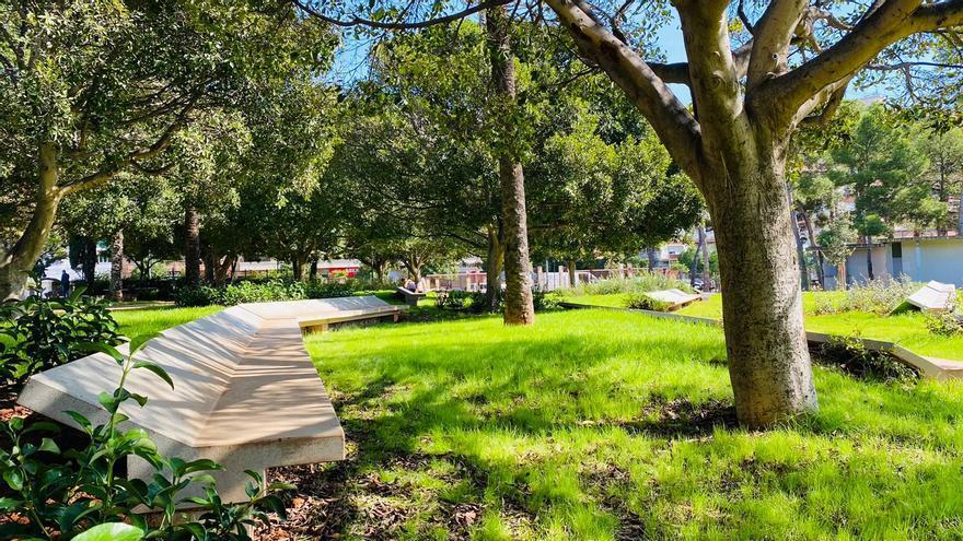 """El Parc de l'Oest estrena una """"profunda"""" remodelación que conecta todos los espacios y mantiene una zona para eventos"""