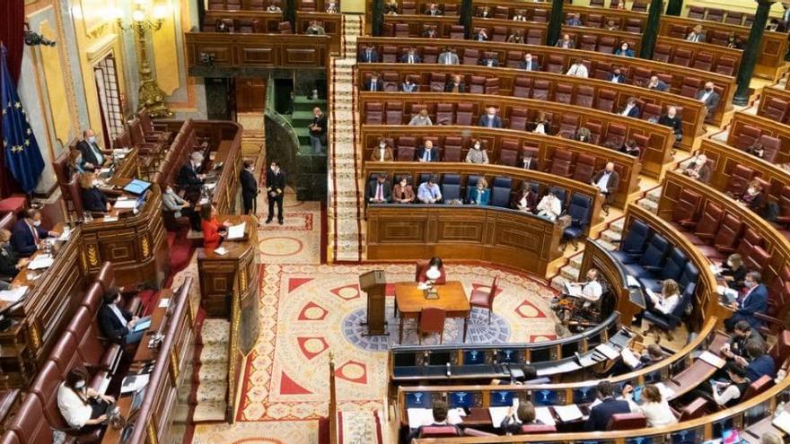 El Congrés aprova la llei de l'eutanàsia amb els vots de la majoria de la investidura i Cs
