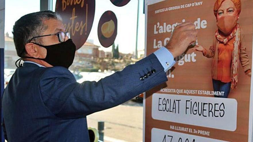 Un supermercat de Figueres reparteix 450.000 euros de la Grossa de Cap d'Any