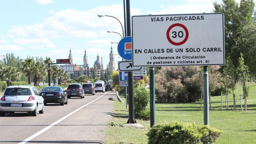 Zaragoza duplica en un año las multas por exceso de velocidad
