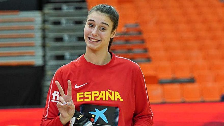 Cuatro jugadoras del Valencia Basket, en la lista de los JJ.OO. de Tokio