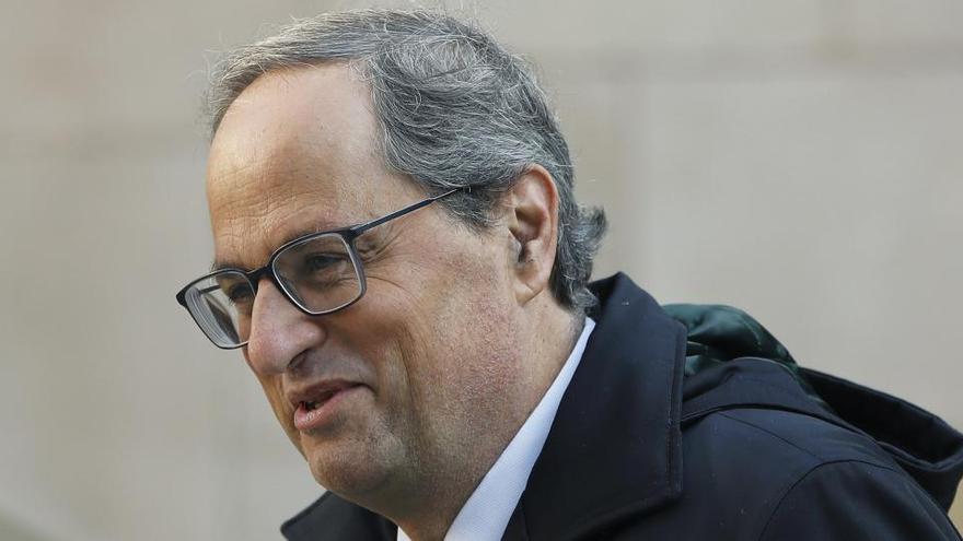 Quim Torra, el primer presidente catalán inhabilitado en ejercicio del cargo