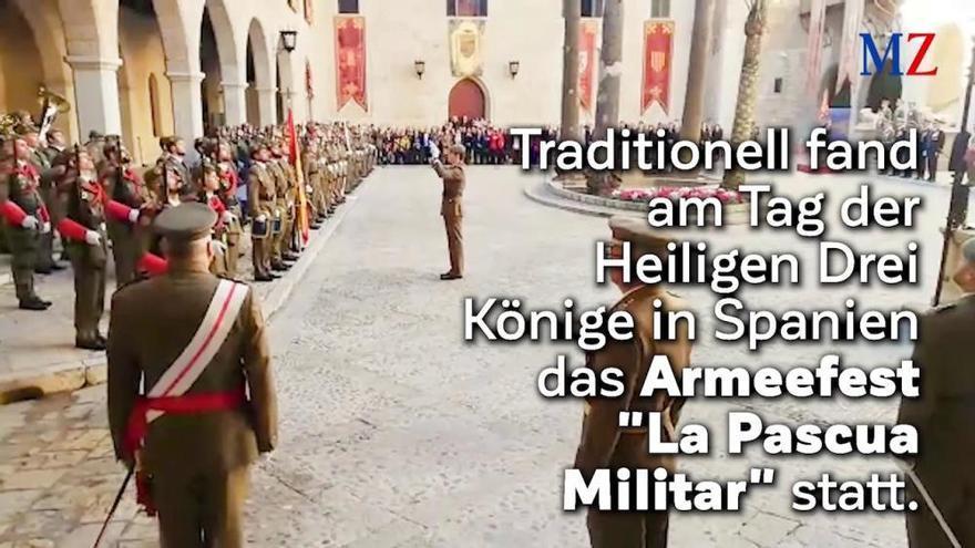 Hochrangige Regierungsvertreter fehlen bei Militär-Parade auf Mallorca