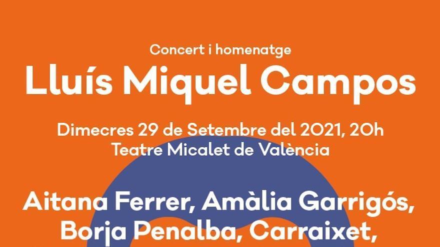 Concert Homenatge a Lluís Miquel Campos