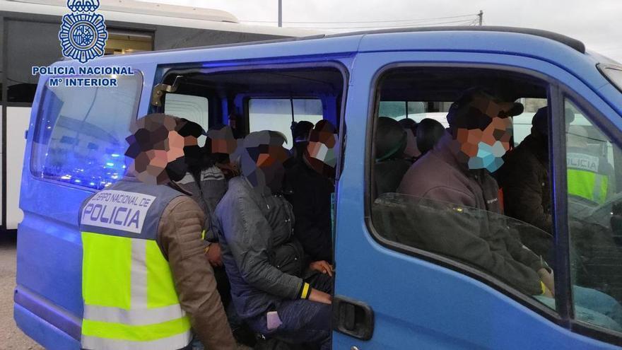 Arrestado el jefe de una cuadrilla de trabajadores del campo por explotarlos