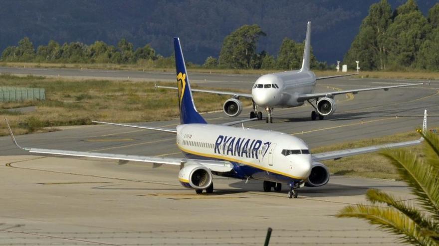 Ryanair, con un pie fuera de Vigo