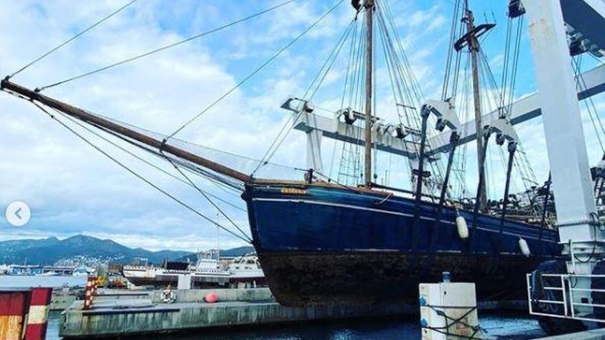 Restauren al port de Roses un vaixell suec de l'any 1903