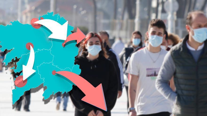 Ranking: ¿cuál es la ciudad con más 'emigración' de Galicia?