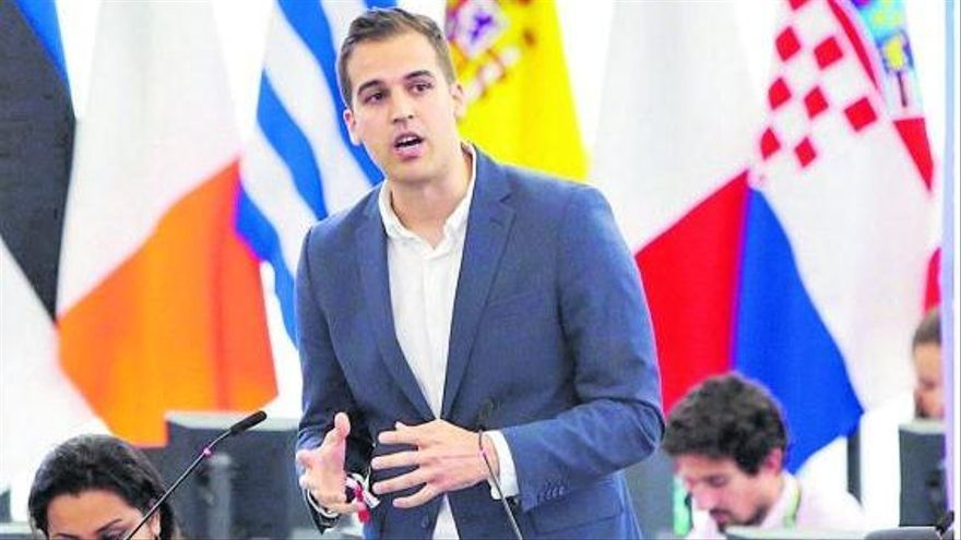 Intervención de Luis Alvarado ante la Comisión Europea.