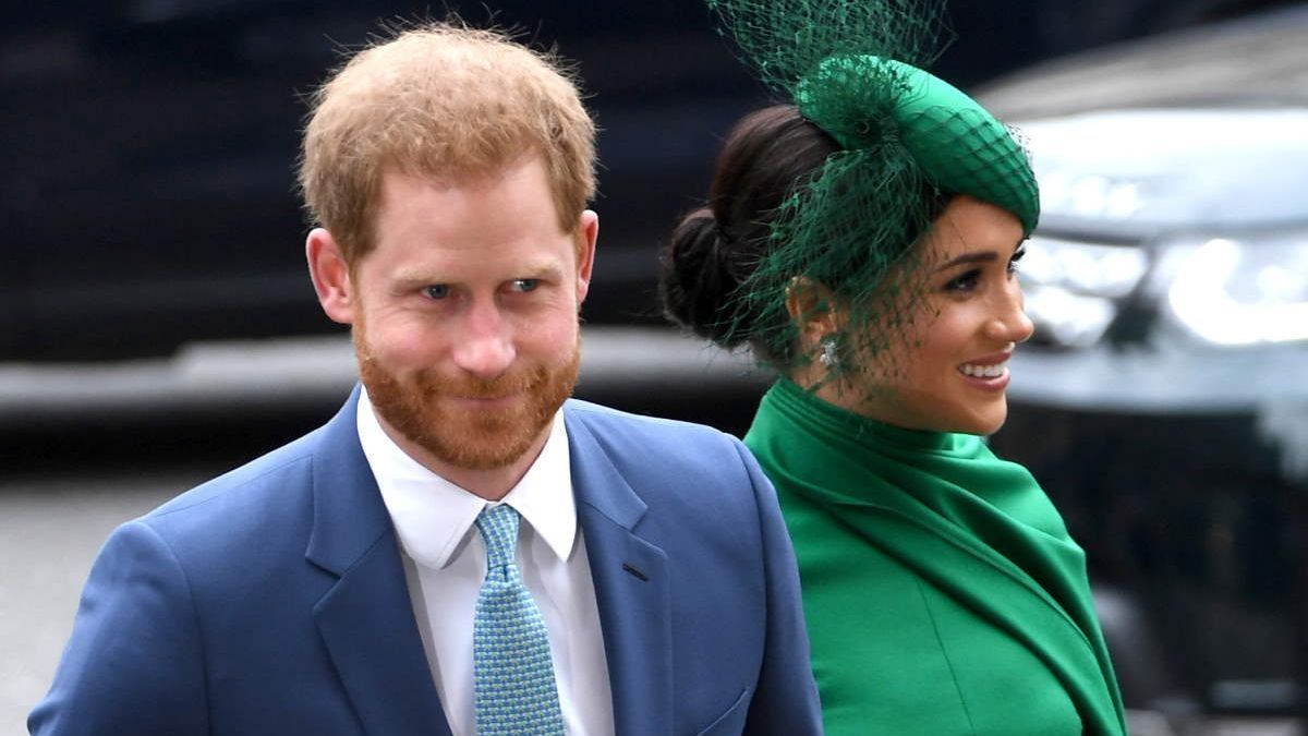 The Duke and Duchess of Sussex, Harry and Meghan.