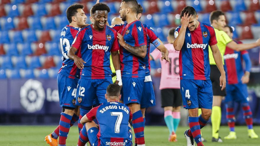 Levante UD 3 - FC Barcelona 3