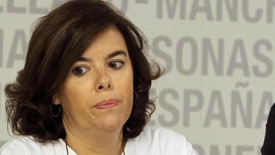 Santamaría también defiende la propuesta de Soria