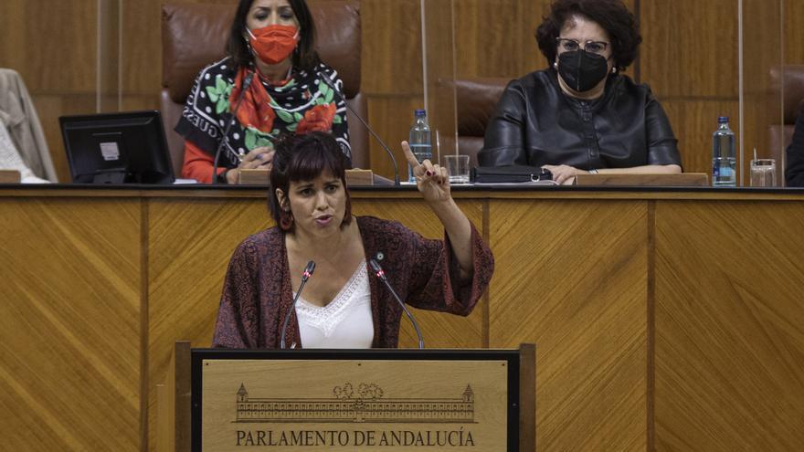 Teresa Rodríguez censura que una diputada del PP diga que el flamenco nació en Madrid